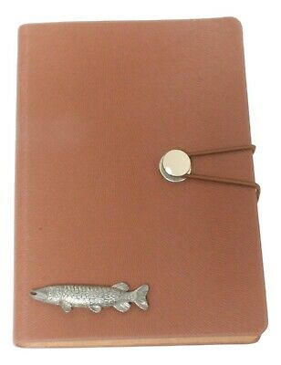 Pike Style A6 Notebook Pocket Size Notepad Ideal Fishing Gift 274 • 14.99£