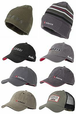Greys Performance Trucker Logo Cotton Fly Fishing Caps & Beanies - All Models • 20.21£