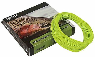 Airflo Velocity Floating Fly Line Weight Forward & Double Taper AFTM Fly Lines • 19.95£