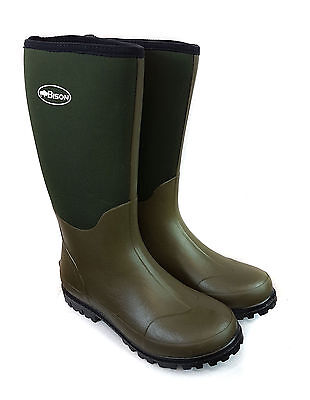 New Bison 6mm Neoprene Wellington Muck Boot • 24.99£