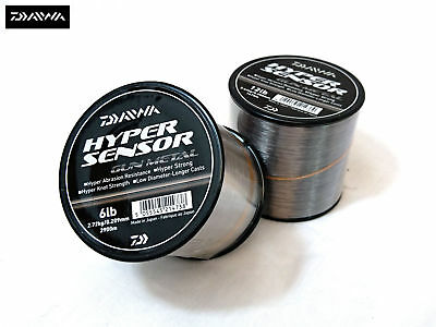 Daiwa Hyper Sensor Gun Metal Bulk Spool Monofil Fishing Line - All Sizes  • 13.95£