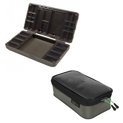 Korda Tacklesafe Tackle Safe + Compac Large 140 Accessory Case Tackle Bag • 34.99£