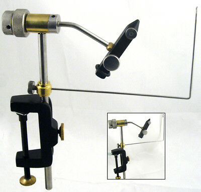 Fully Rotatable Fly Tying Vice With  Bobbin Cradle • 19.99£