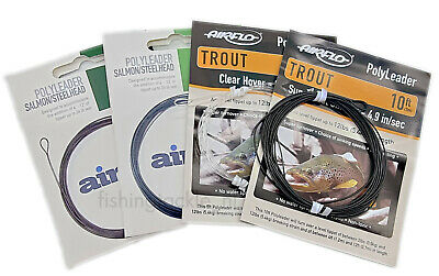 Airflo Poly Leaders 5ft-10ft Trout / Salmon / Steelhead Float Intermediate Sink  • 4.95£