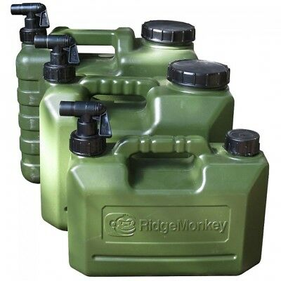 RidgeMonkey Heavy Duty 5L, 10L & 15L Water Carriers Carp Fishing Ridge Monkey • 12.95£