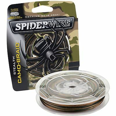 Spiderwire New Superline Stealth Smooth 8 150m & 300m Camo Braid Fishing Line • 28.76£
