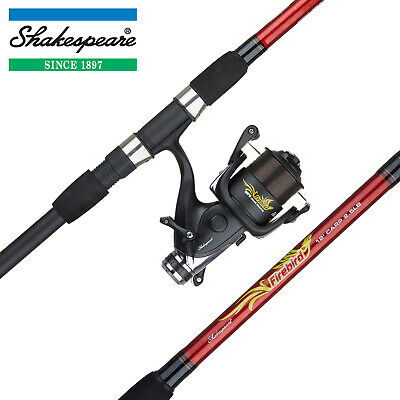 Shakespeare Firebird 12ft Carp Combo - Fishing Rod, Reel & Line Coarse Fish Kit • 34.99£