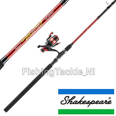 Shakespeare Firebird 10ft Match Combo 3pc - Fishing Rod, Reel & Line Coarse Kit • 34.99£