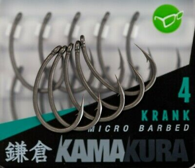 Korda Kamakura Hooks Full Range Krank,Choddy,Wide Gape All Sizes • 6.49£
