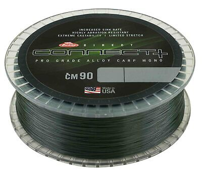 Berkley Connect + CM90 Weed Green Mono Line Mainline 1200m - All Sizes • 22.98£