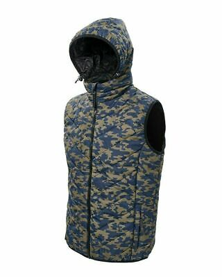 Daiwa Carp Camo Gilet Jacket  Fishing Body Warmer RRP£69.99 SIZE LARGE   CCG-L • 24.99£