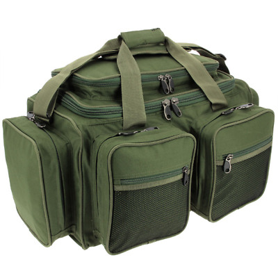 NGT Camo XPR Multi Pocket Carp Carryall Tackle Bag Deluxe Waterproof Holdall • 29.16£