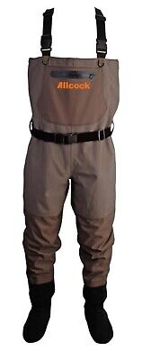 Allcock Breathable Stockingfoot Chest Wader Fishing Waders 15,000mm Hydrostatic  • 89.99£