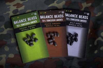 Esp Tungsten Loaded Balance Beads All Sizes BRAND NEW 2020 *Pay 1 Postage* • 3.95£