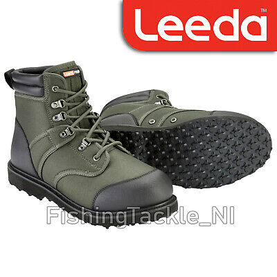 Leeda Profil Wading Boots - Stud Compatible Rubber Sole Lightweight Fishing Boot • 49.99£