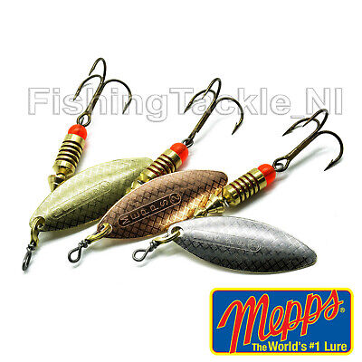 Mepps Aglia Long Spinner Fishing Lure Predator Pike Etc Gold Silver Copper • 4.99£