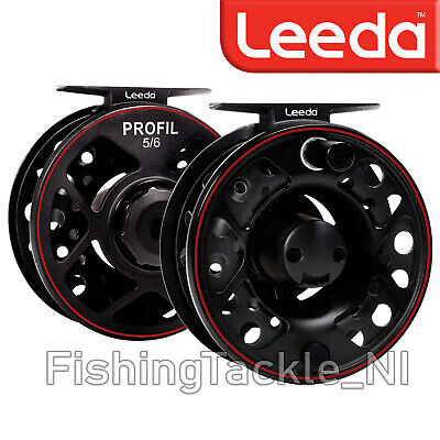 Leeda Profil Cassette Fly Fishing Reel And 2 Spare Cassette Spools • 29.99£