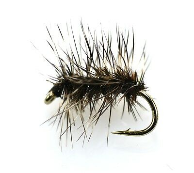 GRIFFITHS GNAT Dry Trout Fishing Flies Various Size Options You Choose • 3.20£
