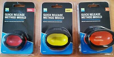 Preston Quick Release Method Moulds All Sizes • 3.75£