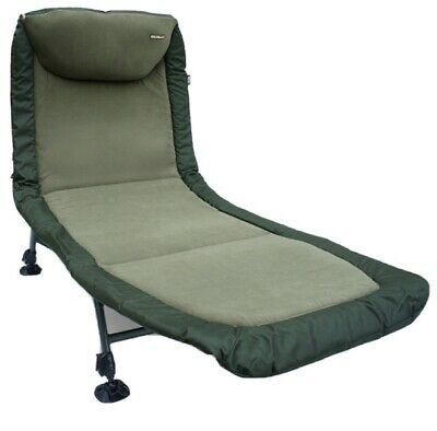 NGT Classic Bed Chair With Recliner, Green - One Size • 99.95£