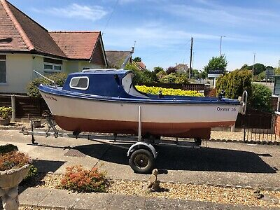 Oyster 16 Fishing Boat. 16ft With Trailer. Good Condition. • 700£
