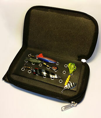 Spinner Lure Wallet And Lures Great Christmas Present • 5.99£