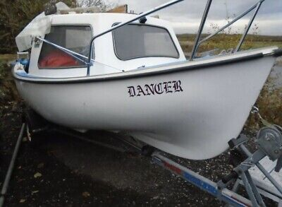 Virgo 14ft Fishing Boat With Snipe Trailer & 15hp Suzuki Outboard • 2,000£