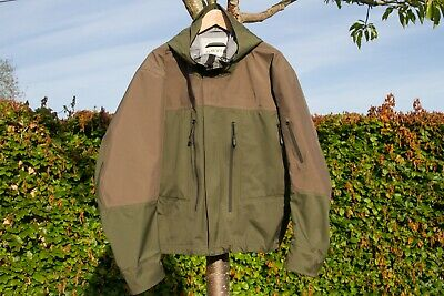 Orvis Pro Guide Breathable Wading Fishing Jacket With Hood, Green, Size XL • 9.99£