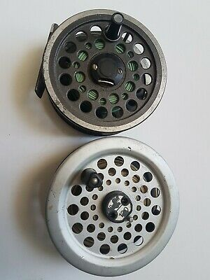 2 Vintage Center Pin Fly Fishing Reels  • 25£