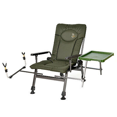 Solid Steel Fishing Accessories Chair, Folding Armchair Folding Arm (F5R ST/P) • 93.89£