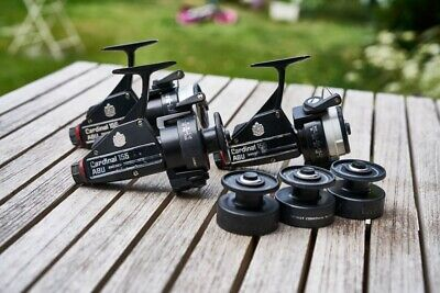 Abu Cardinal 155 Reels X 3 With Spare Spools • 150£
