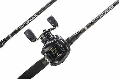 Abu Garcia 6ft'6 Pro Max Baitcast Fishing Combo Rod & Reel • 89.99£