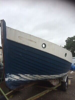 23ft Mitchell Boat Hull And Trailer Project • 1,500£