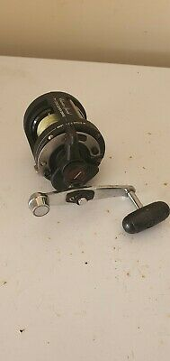 Shimano Tr 1000 Charter Special Multipler Reel Loaded With 80lb Power Pro Braid • 30£