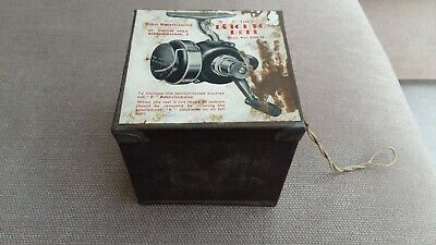Rare & Collectable, Leighton Reel Tin Box With Illustrated Label To Lid • 39.99£