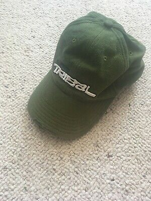 Shimano Tribal Cap Distressed Look Adjustable Strap Carp Fishing Green RARE • 4.99£