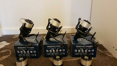 Daiwa Windcast 5500 QDA Big Pit Reels Carp Fishing Reels • 260£