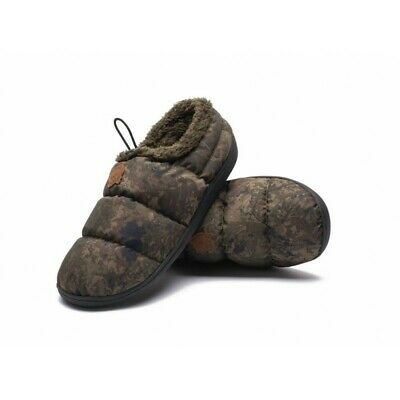 Nash Camo Deluxe Bivvy Slippers (PRE ORDER ITEM, DUE BEFORE CHRISTMAS) • 29.99£
