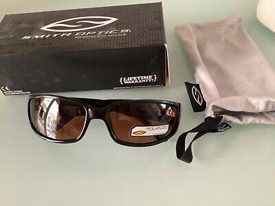 Smith Gallegos Sunglasses Polarised Black With Copper  Lens Fishing • 39£