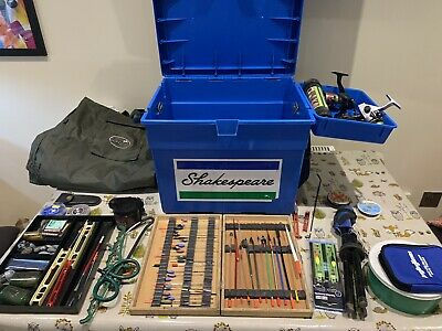 Job Lot Off Course/match Fishing Tackle Rods Reels....ect • 140£