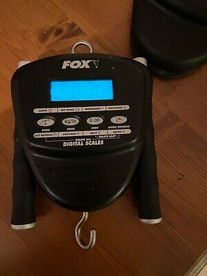 Unwanted Fox Digital Scales 30kg 66lb Weighing Carp Fishing Scales With Hardcase • 51£