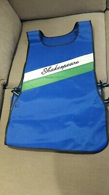 Reduced : Retro Shakespeare Fishing Bait Apron- Appears Unused • 24.99£