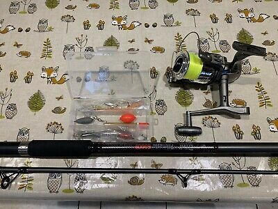 Crivit Sea Fishing Out Fit Rod/reel Etc • 22£
