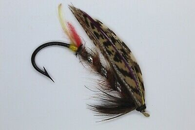 Brown Dog ?Variant Size 7/0 Vintage Gut Eye Salmon Fly Early 20th Century • 10.50£
