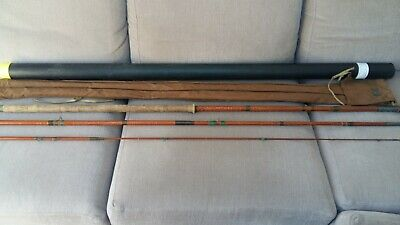 """Vintage Hardy """"the Lightweight Rod"""" Thames Style 13ft 3 Piece Cane Rod • 29.99£"""