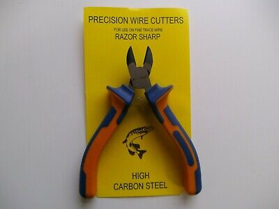 Pike / Sea: New De-luxe Precision Wire Trace Cutters - Razor Sharp • 6.99£