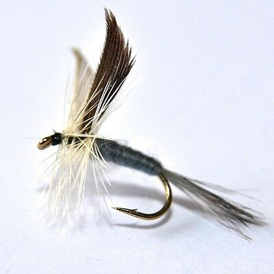 BLUE DUN Dry Fly Trout & Grayling Fly Fishing Flies By Dragonflies         • 4.82£
