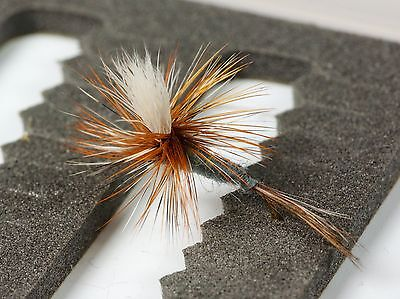PARACHUTE ADAMS Dry Trout Fishing Flies Various Options By Dragonflies         • 4£