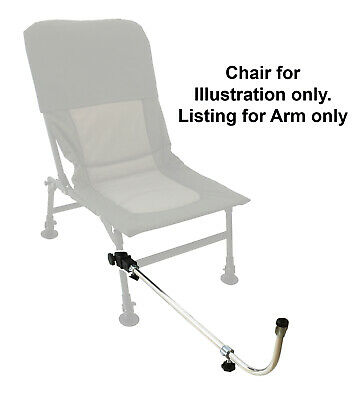 MDI Chair Extendable Fishing Quick Release Feeder-Method Arm Rest 75-120cm • 15.99£