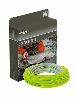 Airflo Sixth Sense Floating Weight Forward Fly Line Float Colour Grey/Chartruese • 31.95£